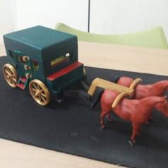 마차 피규어-3D프린터